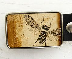 Hey, I found this really awesome Etsy listing at https://www.etsy.com/listing/69672745/vintage-bee-belt-buckle