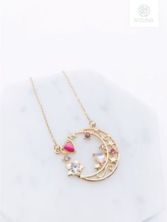 Sailor Moon inspired necklace.