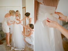 Kirsty & Kane wedding - anna campbell blossom dress and babushka ballerina tulle skirt - TBB blogspot