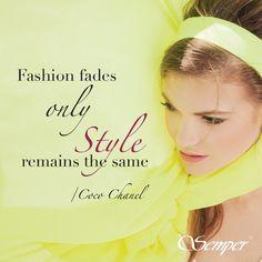 Zgadzacie się z Coco Chanel?  #chanel #cocochanel #cytat #quotes #style #stylish #styl #fashion #semper #semperlife #semperfashion #fashion #moda #sentencja #spring #wiosna #yellow