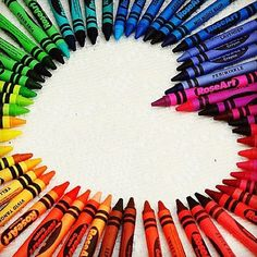 LOVE crayons