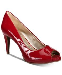Put a pretty polish to dressy looks in the timeless silhouette and patent gloss of Bandolino's Rainaa platform pumps Pump Shoes, Shoe Boots, Platform High Heels, Red Platform, Platform Sneakers, Classic Pumps, Peep Toe Pumps, Stiletto Heels, Shoe Collection