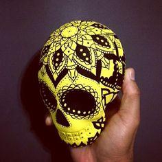 Beautiful Skull #skull #skulls #skullart #mandala #mandalaart #caveiramexicana #caveira #calavera #drawing #posca #pencil #girl #flowers #instadaily #photooftheday #art #artistic #artist #decoration #decorations #sugarskull #mexico #mexicanskull