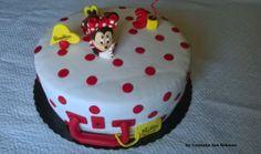 Bolo de aniversário da Matilde - Minnie na Mala