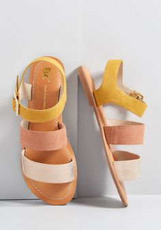 b89bf41440 These vegan sandals by BC Footwear are a heavenly addition to your every  warm-weather