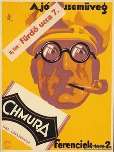 A jó szemüveg. Illustrations And Posters, Vintage Advertisements, Hungary, Vintage Posters, Advertising, History, Movie Posters, Illustrations, Posters