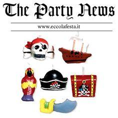 Candeline pirati http://www.eccolafesta.it
