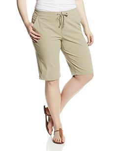 Columbia Womens Big Anytime Outdoor Long Short Plus Tusk 16W * See this great product.