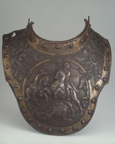 Necklace (front side) Author: Country: France or Flanders Collection: Arms and Armour Date: Between 1625 and 1635 Technique: forged, chased, engraved and gilded