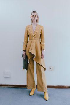 #ThebeMagugu #fashionweek #fashion #SS21 #RTW #lookbook Paris Fashion, Runway Fashion, Fashion Show, Fashion 2020, Fashion Brands, John Galliano, Vogue Paris, Tan Suit Jacket, Fashion Week Paris