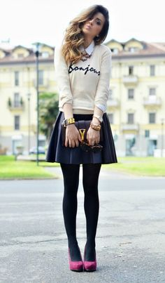 Tips for Wearing Miniskirts without Looking Trashy - DesignerzCentral
