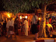 Anjuna Night Market, Goa, India