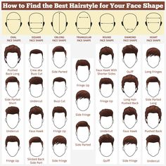 Fabulous Mens Hairstyles Pick A Style For Your Face Shape Face Shapes Short Hairstyles Gunalazisus