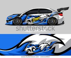 Abstract racing and sport backg… Car wrap decal graphics. Abstract racing and sport background for racing livery or daily use car vinyl sticker. Car Stickers, Car Decals, Racing Car Design, Car Painting, Car Wrap, Custom Cars, Used Cars, Race Cars, Wraps