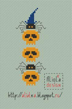 Мои творилки *** Aliolka design: Черепа, паучки и тыковки! Хэлл продолжается...