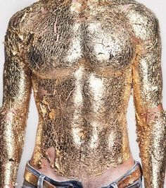The body of gold.