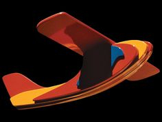 Wooden Plane. Design Ole Søndergaard Wooden Airplane, Plane Design, Wooden Toys, Race Cars, Abstract, Artwork, Crafts, Wooden Toy Plans, Drag Race Cars