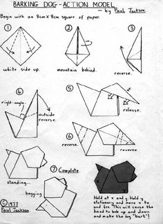 easy origami instructions elephant easy origami origami and puppet rh pinterest com easy origami bird diagram easy origami dinosaur diagrams