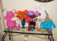 Little Monsters party: Shaylee is 3! | Chickabug