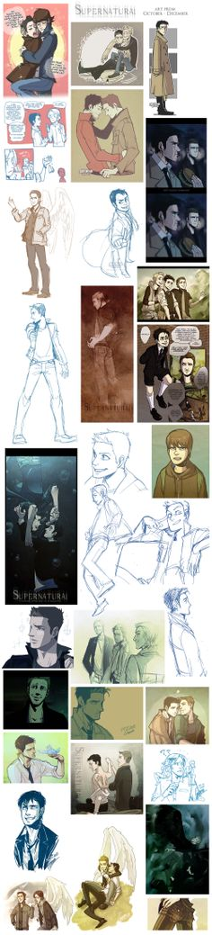SUPERNATURAL stuff 02 by Garama.deviantart.com on @deviantART