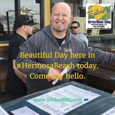 Beautiful Day here in #HermosaBeach today. Come say hello.