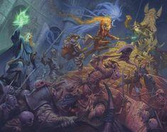 Dungeon Saga by RalphHorsley on DeviantArt