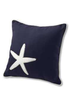 Starfish outdoor pillow from Lands' End?  Yes, please!