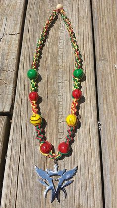 Hey, I found this really awesome Etsy listing at https://www.etsy.com/listing/200312832/rasta-kottonmouth-kings-necklace