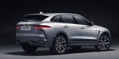 The 2019 Jaguar F-Pace SVR Is 550-HP of Supercharged English Absurdity