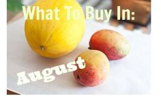 Grocery store trends for August.  What to buy in August.