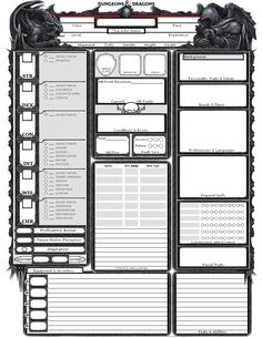 40 Rpg Character Sheet Ideas Rpg Character Sheet Character Sheet Rpg Character