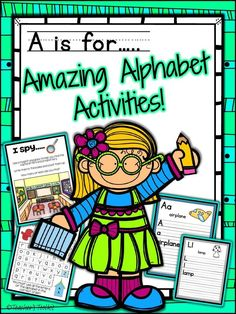 This alphabet practice workbook offers a variety of fun and engaging activities to give young learners the required practice to recognize, name and sound the letters of the alphabet. The ABCs are the building blocks of language. In order to become literate, our children must be able to recognize each letter, both in order and out of order, as well as the sounds connected with that letter. Once armed with that knowledge, then a child is well on the road to reading and literacy.