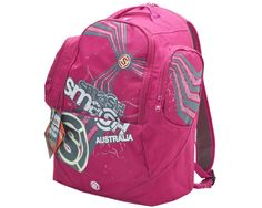 Pink and Grey Lobe Backpack 19797