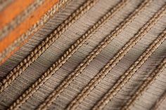 Cumare and Copper Curtain - Contemporary Decorative Objects - Dering Hall Contemporary Decorative Objects, Trends, Family Traditions, Hand Weaving, Art Pieces, Textiles, Models, Metal, Fiber