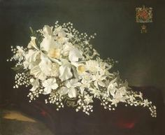 Queen Elizabeth II's coronation bouquet consisted of orchids, lily of the valley, stephanotis and carnations.