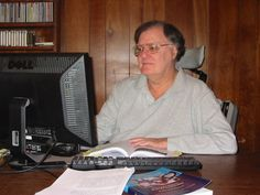 Ed Bauer, Who Has ALS, Does Research for His Book