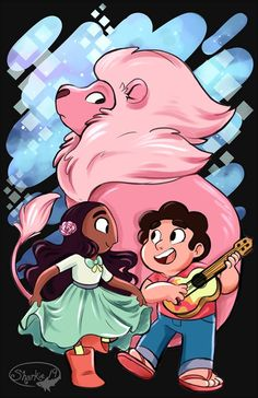 Steven & Connie - Steven Universum - Steven & Connie - Steven universe - Steven & Connie - Steven universe - Cartoon Network - Cartoon Videos Kids For 2019 Steven Y Connie, Connie Steven Universe, Steven Univese, Old Dress, Sharpie91, Desenhos Cartoon Network, Connie Stevens, Universe Art, Star Vs The Forces Of Evil