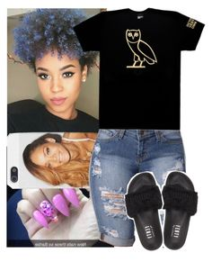 """""""OVO"""" by msixo ❤ liked on Polyvore featuring October's Very Own and Puma"""