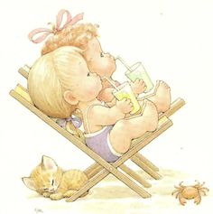 Beach Vacation - Ruth Morehead Beachcombers