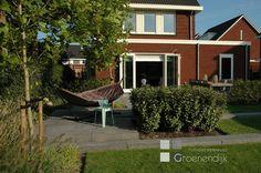 Tuin in Reeuwijk met een heerlijke hangmat