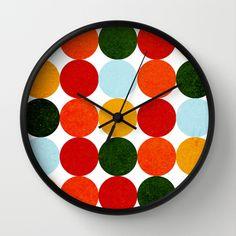 Wall Clocks, Coasters, Colorful, Clocks, Chiming Wall Clocks, Coaster