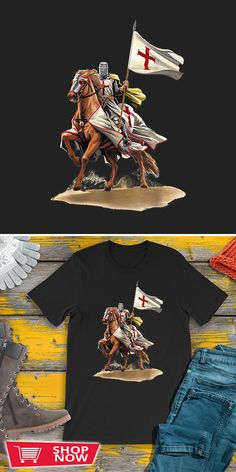 You can click the link to get yours. Knights Templar The Crusader I Fear No Evil. Knight Templar tshirt for Crusader and Knight Templar Lovers. We brings you the best Tshirts with satisfaction. Evil Knight, Knight Armor, Kingdom Of Heaven, Chivalry, Knights Templar, Inspirational Gifts, Special Gifts, Defenders, Link
