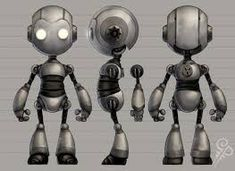 Image result for cute 3d robots