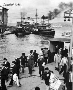 Karaköy Rıhtımı 1958