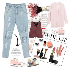 """""""Untitled #100"""" by missuwa on Polyvore featuring beauty, Apiece Apart, By Malene Birger, Converse and Prada"""