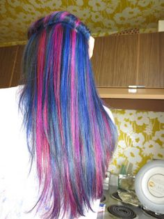 Heart Scale: My Multicolored Hair