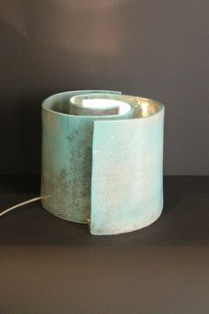 Ceramic Light, Home And Living, Candle Holders, Table Lamp, Pottery, Clay, Candles, Pots, Light Bulb Vase