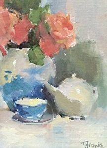 Simplicity by Nancy Franke Oil ~ 12 x 9