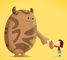 MONSTERS AND KIDS by OSCAR OSPINA