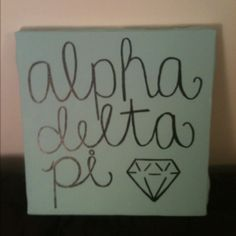 ADPi love... I guess you can say I'm obsessed